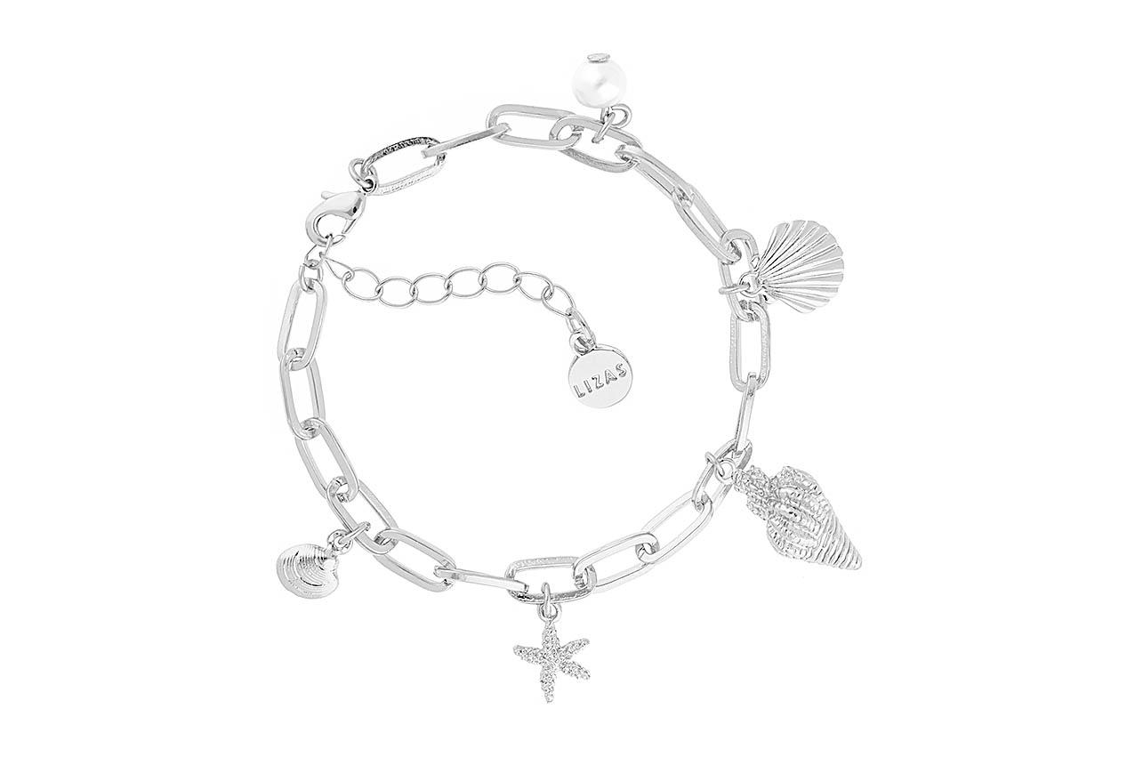 Armband - Beach Treasures Silver