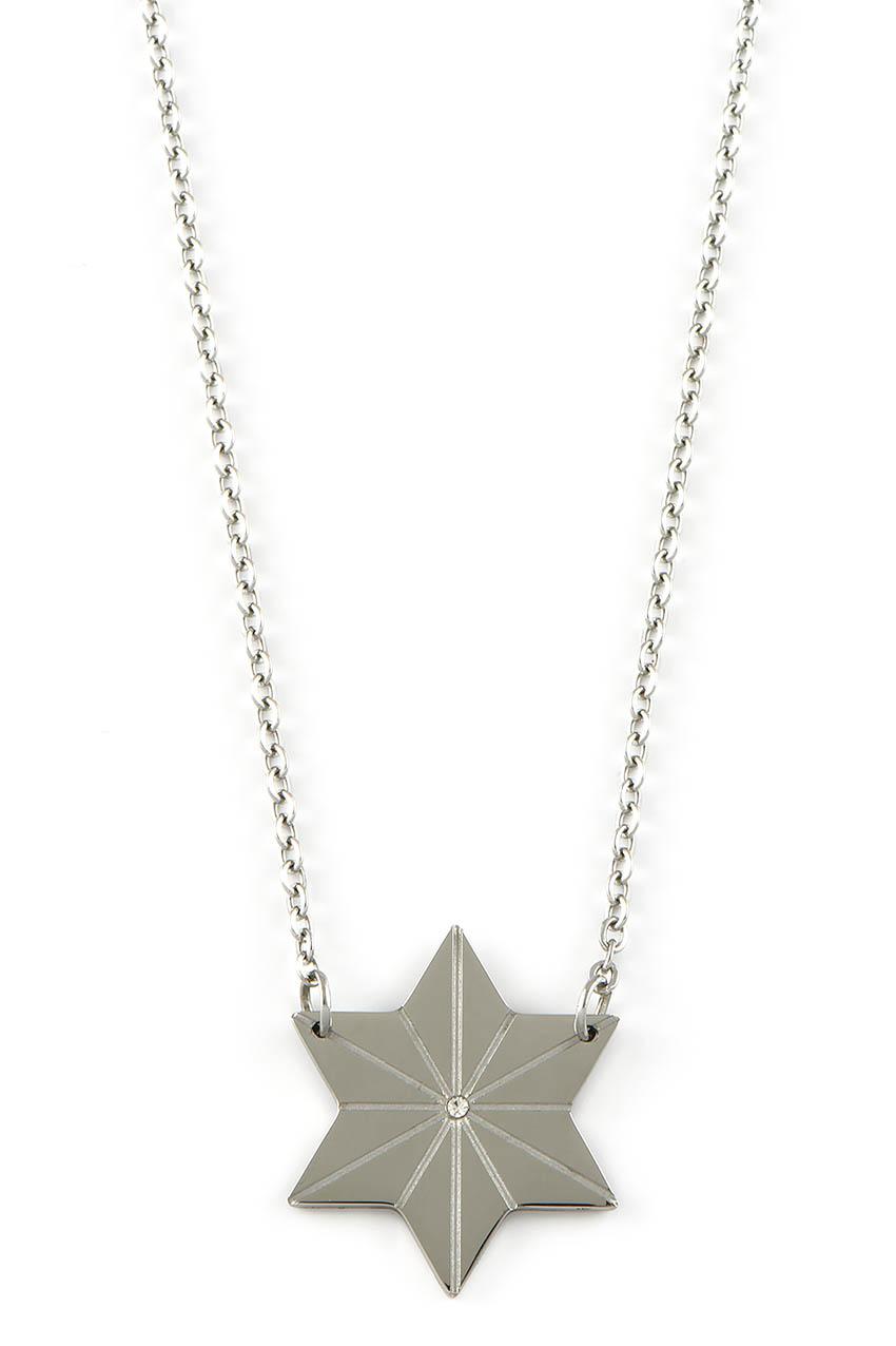 Halskette - Stern Silber