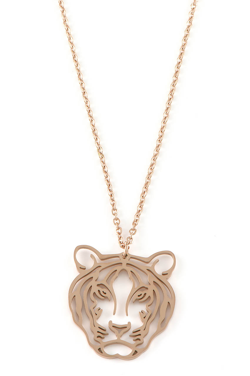 Halskette - Tiger Rosegold