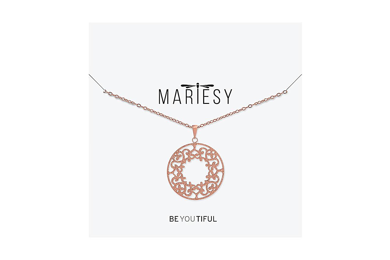 Halskette - Rose Ornaments