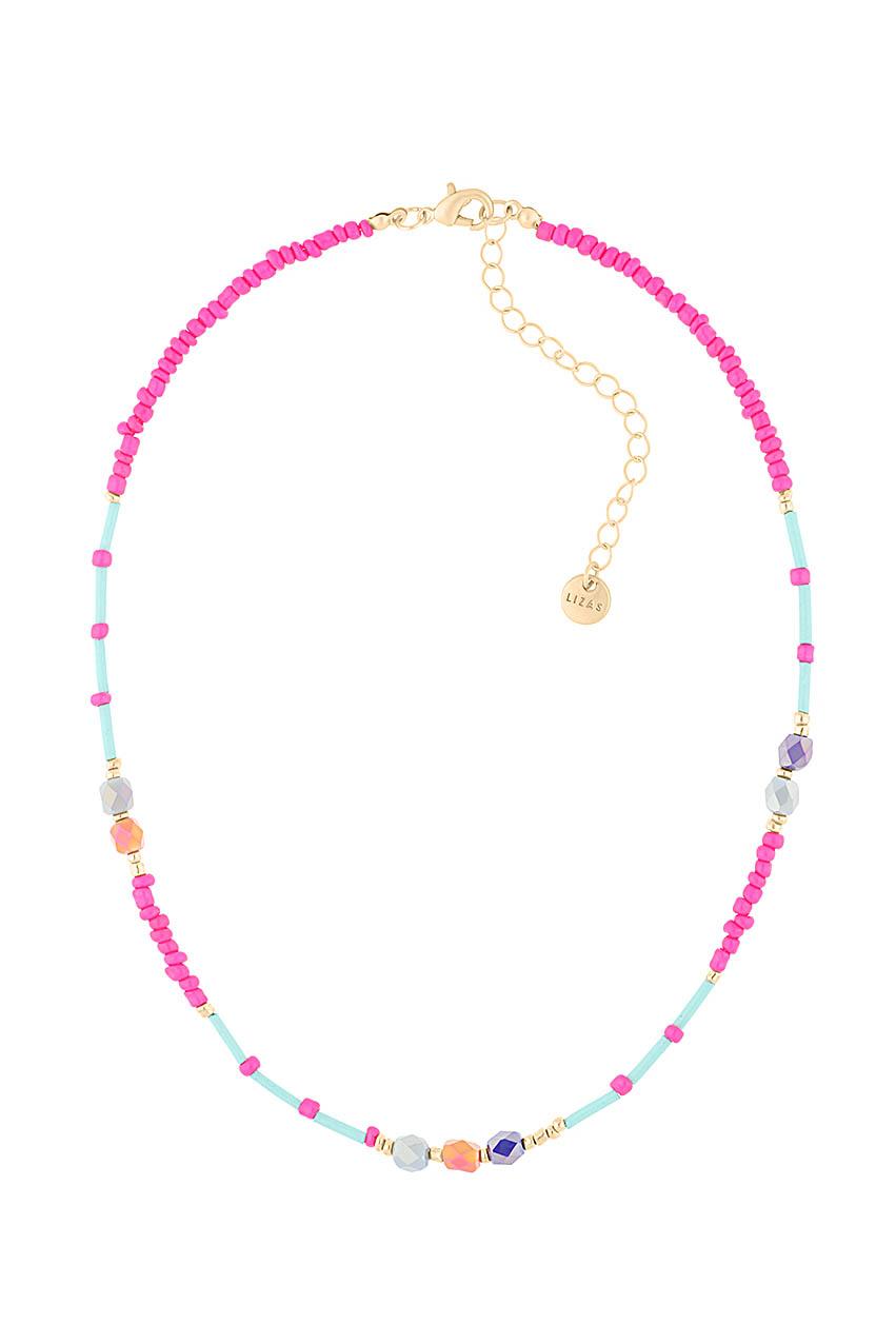 Halskette - Surfer Beads Pink