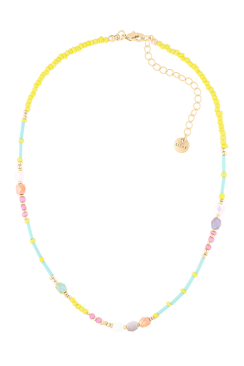 Halskette - Surfer Beads Yellow