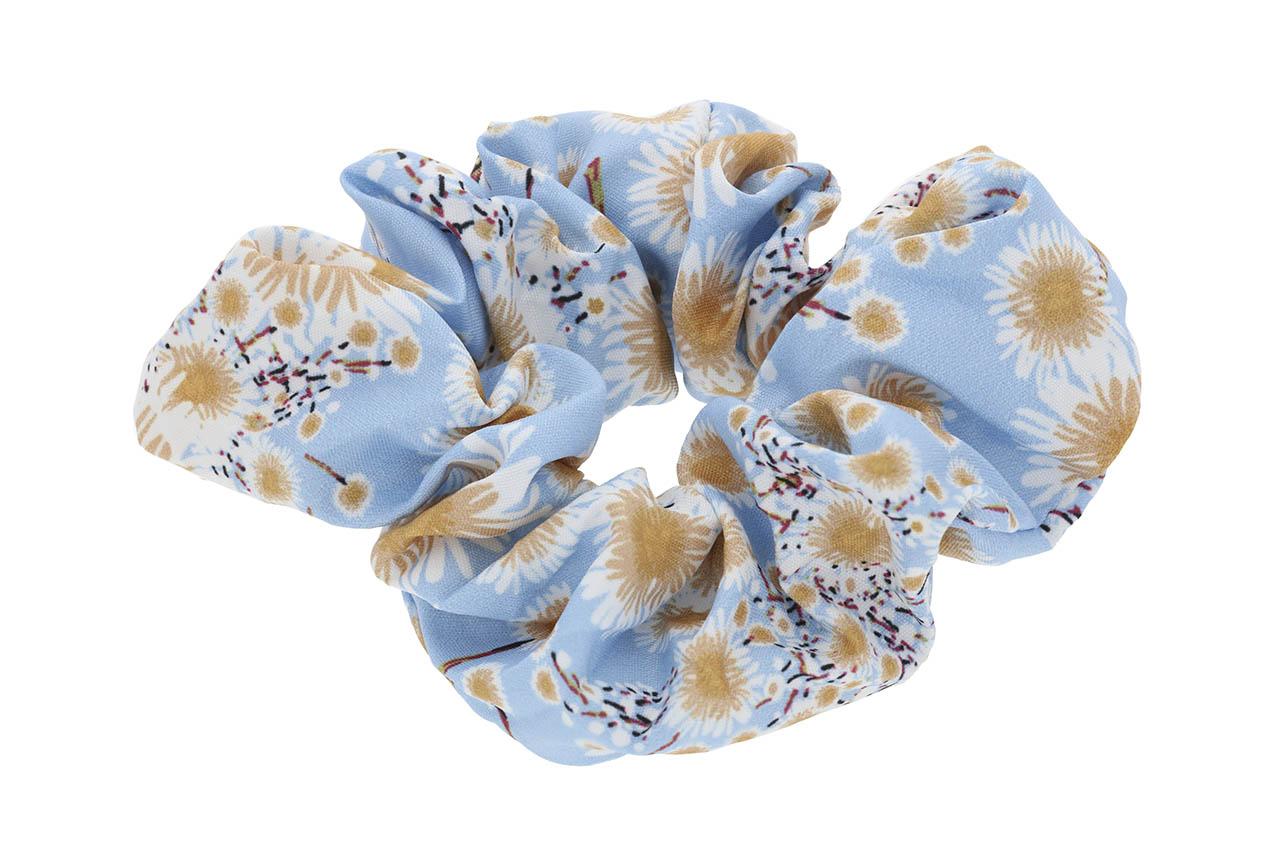Haargummi - Floret Blue