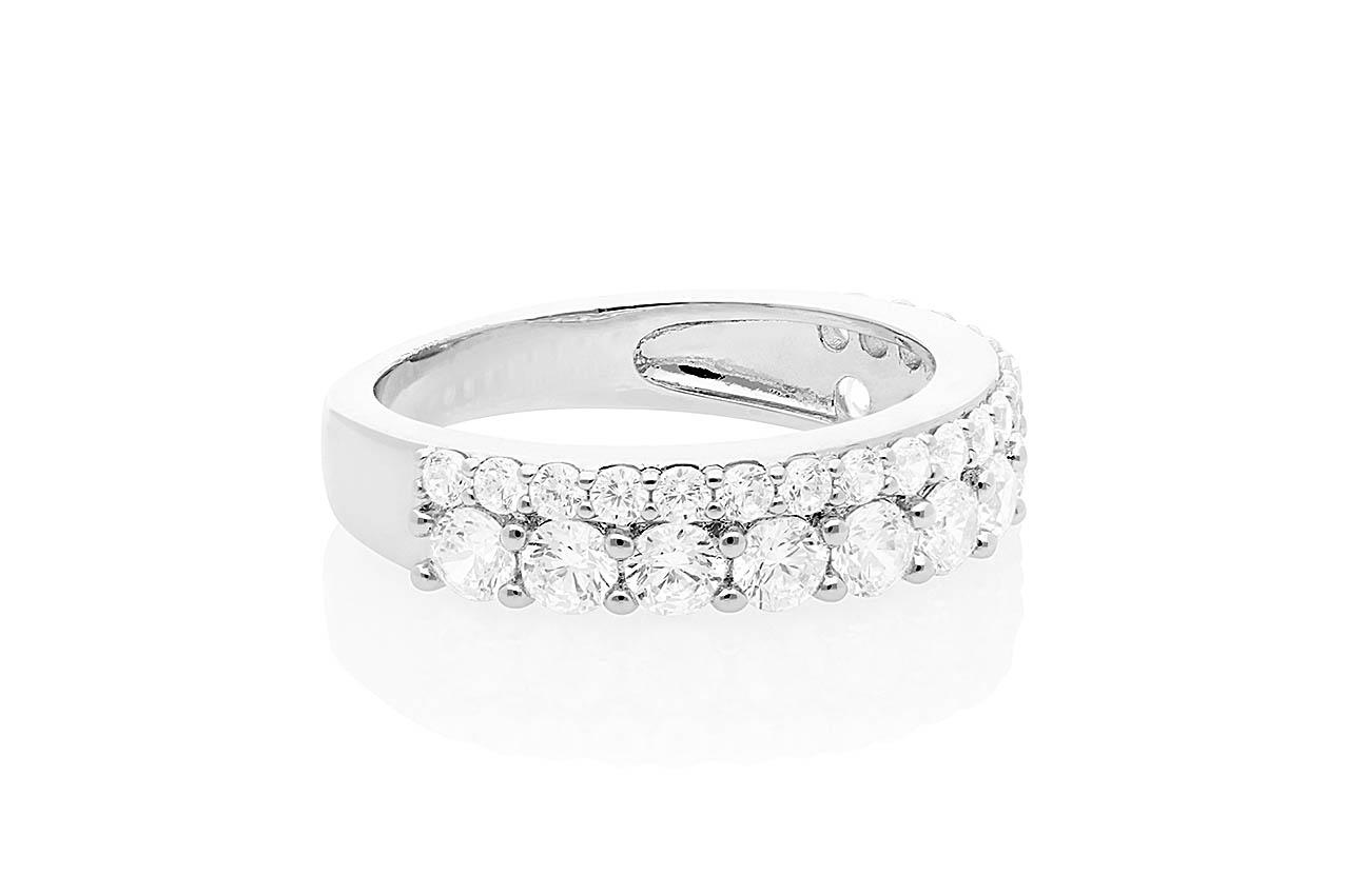 Ring - Scintiller Silver EU56