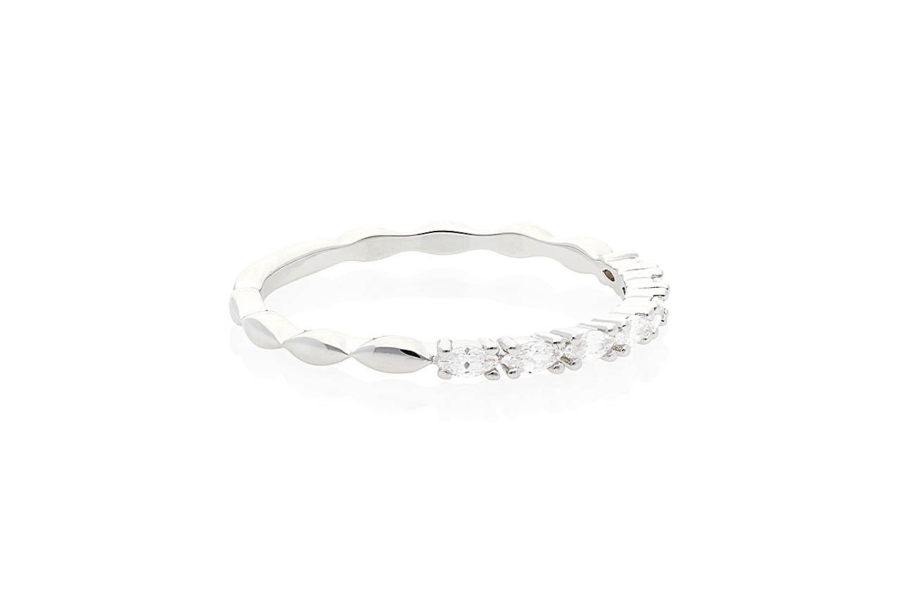 Ring - Brillar Silber EU54