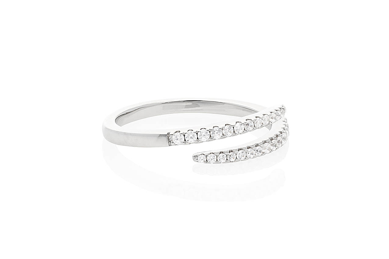 Ring - Jolie Silber EU56