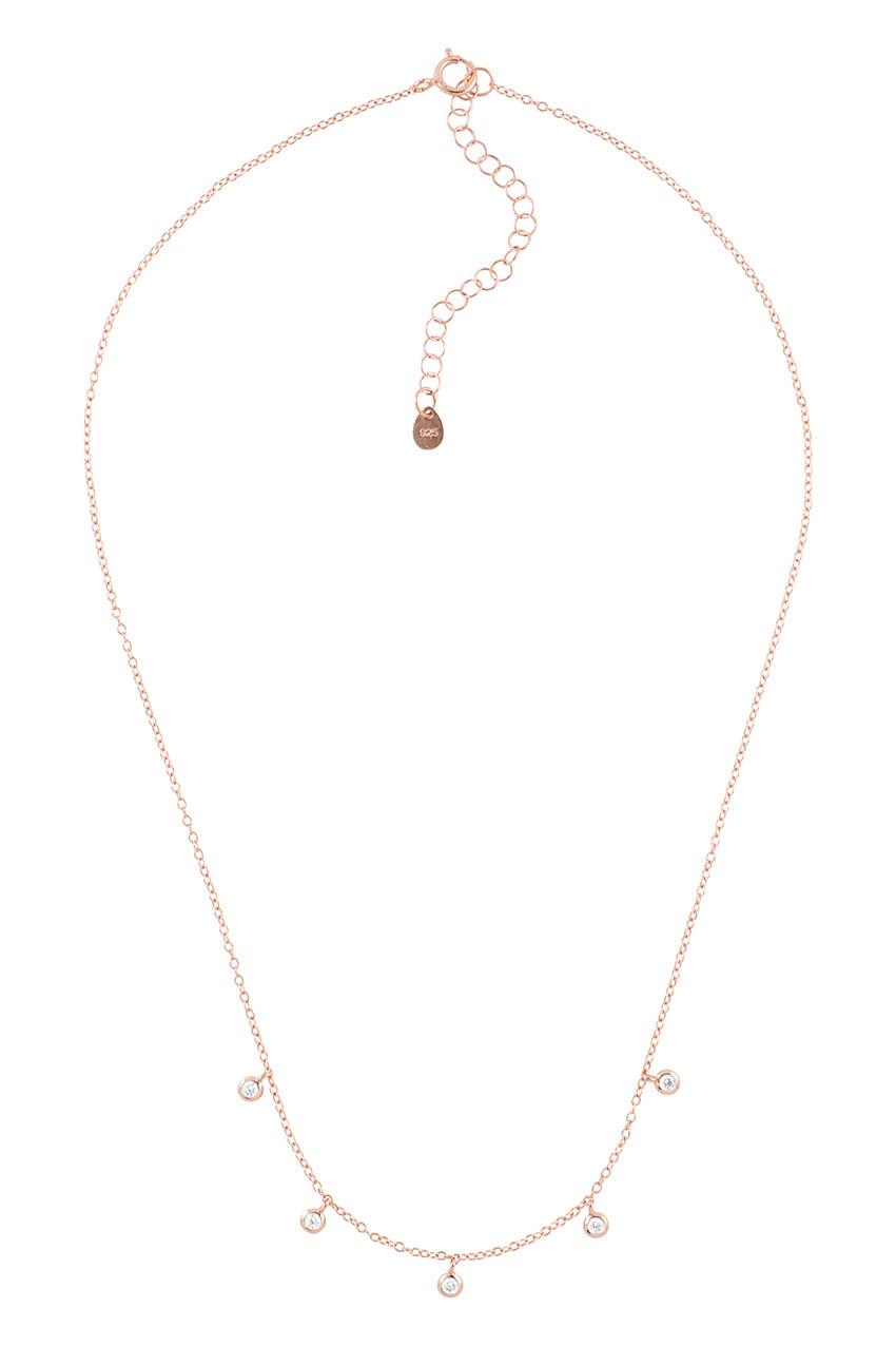 Halskette - Rosegold Posh
