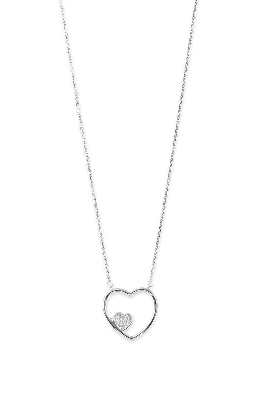 Halskette - Heart in Heart