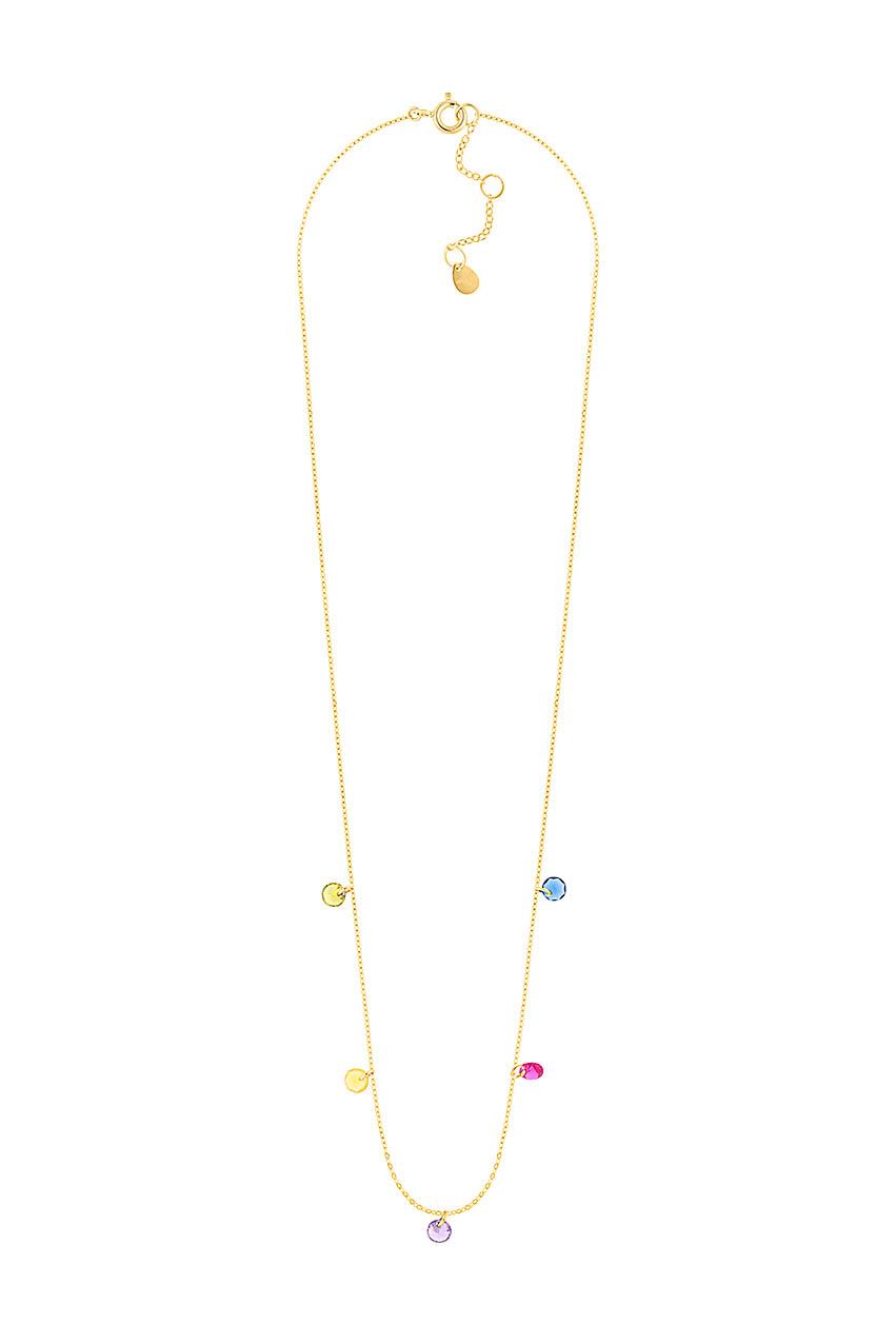 Halskette - Color Drops Gold