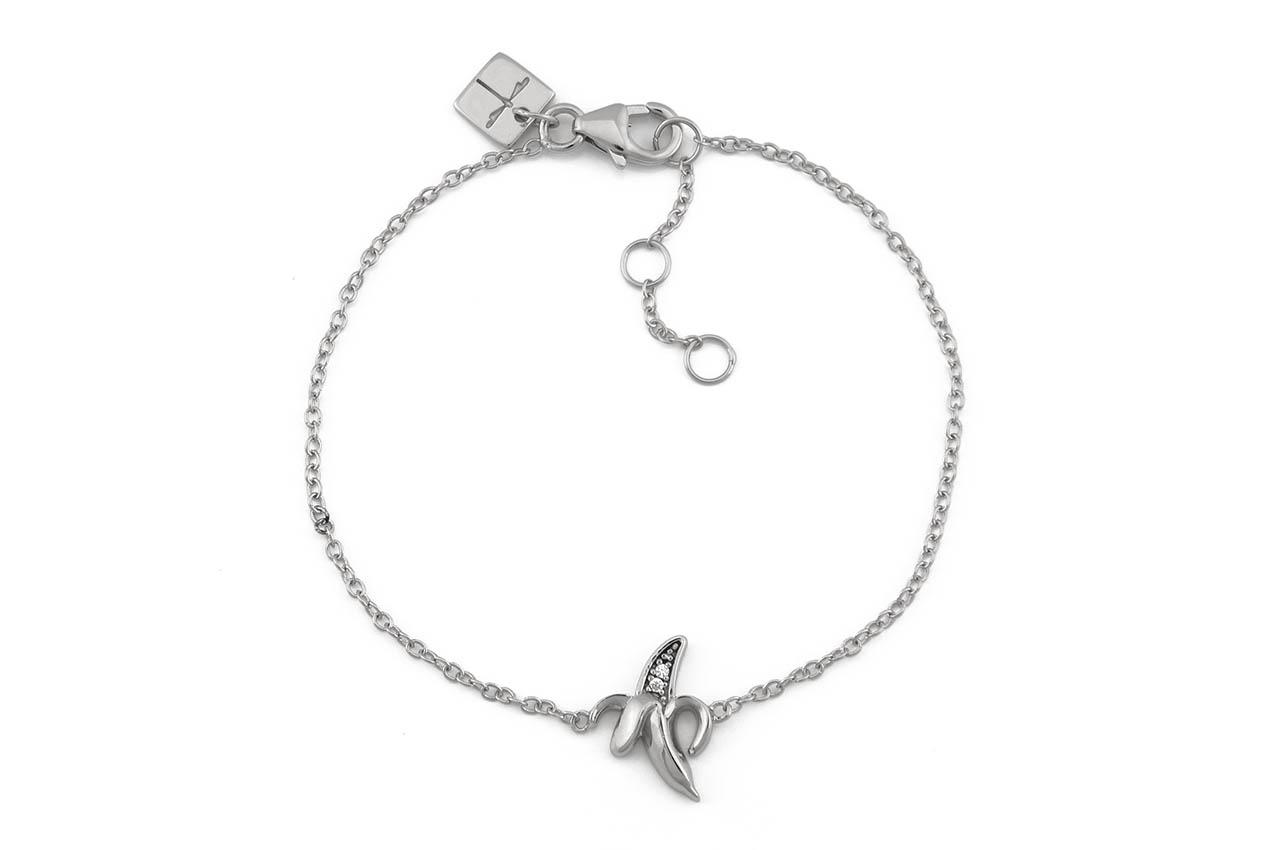 Armband - Silver Banana