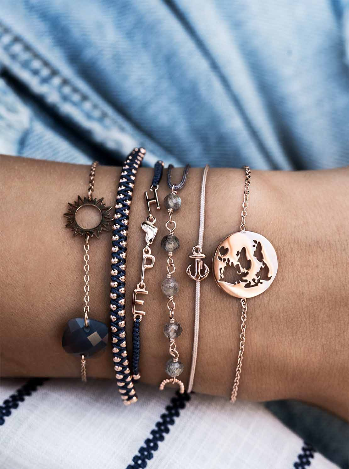 Armband - Blue Hope