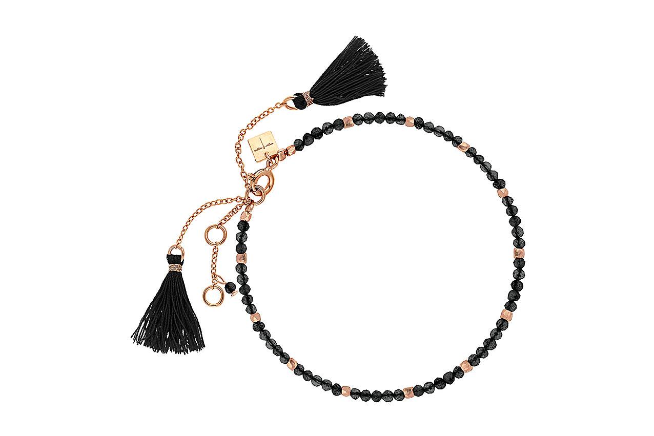 Armband - Black Marrakesh