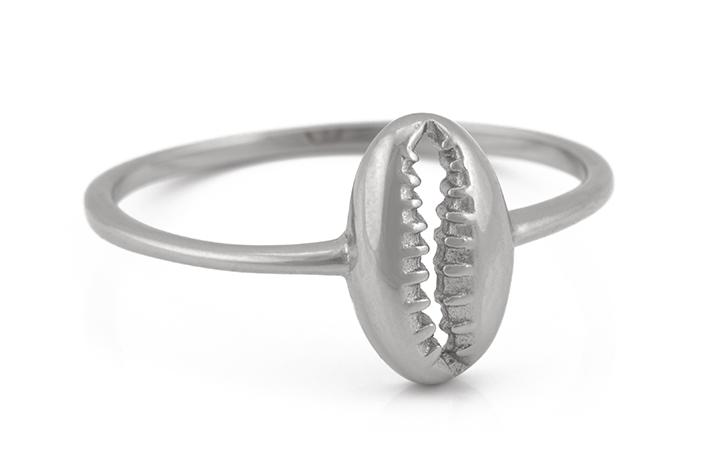 Ring - Silver Kauri Shell EU52