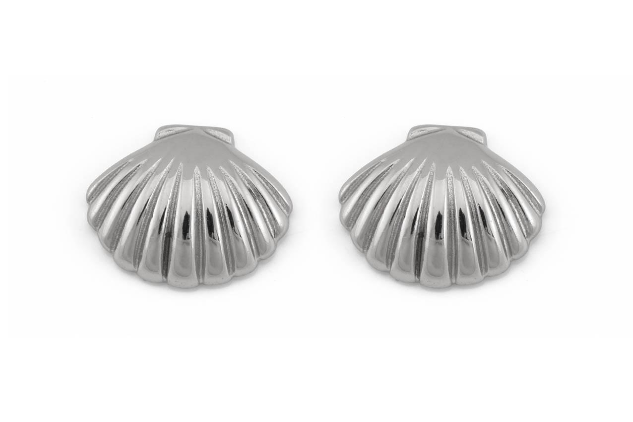Ohrstecker - Silver Sea Shell