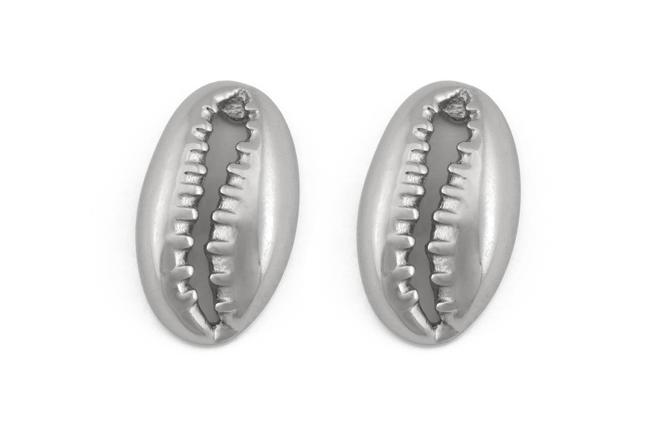 Ohrstecker - Silver Kauri Shell