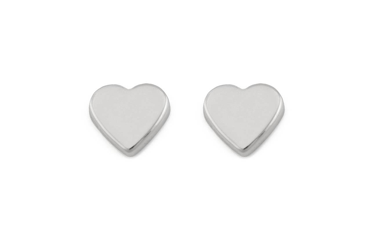 Ohrstecker - Silver Heart