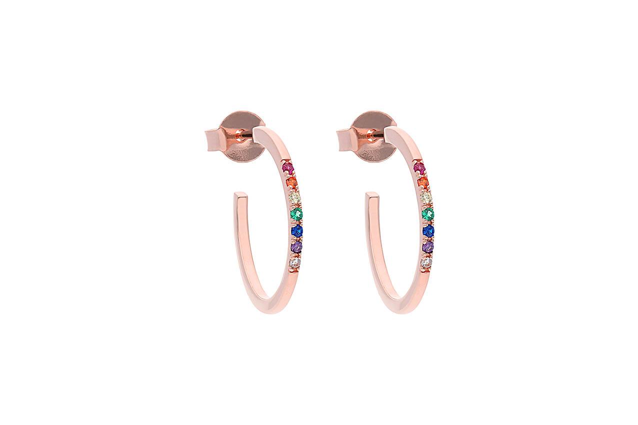 Ohrringe - Filigree Rainbow