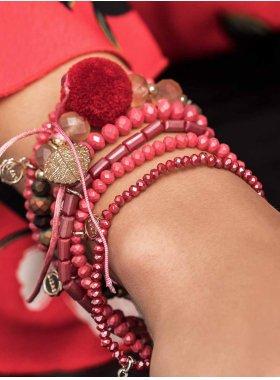 Armband ''Nashville'' - Coral