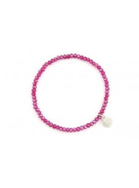 "Armband ""Fineville"" - Raspberry"