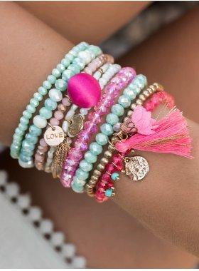 """Armband """"Nashville"""" - Pink"""