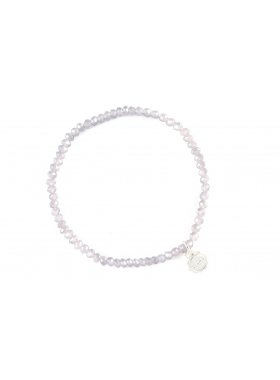 "Armband ""Fineville"" - Clear Grey"
