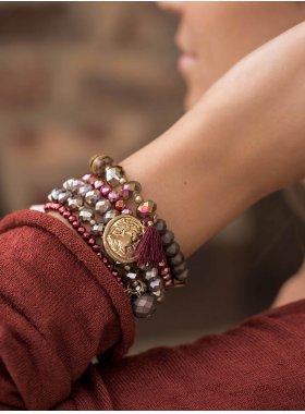 "Armband ""Nashville"" - Scarlet"