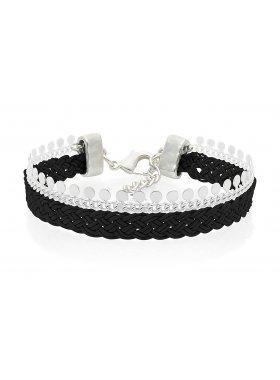 Armband - Braided Black