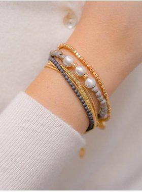 "Armband ""Livingston"" - Minimal Gold"