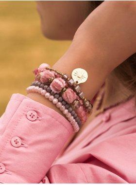 Armband ''Nashville'' - Rosy Glaze