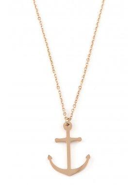 Halskette - Anker Rosegold