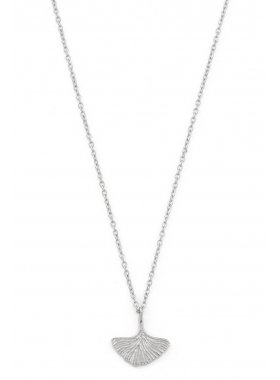 Halskette - Ginkgo Silber