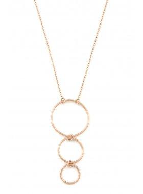 Halskette - Rose Loops