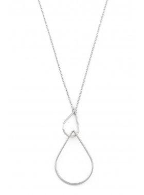 Halskette - Silver Tears
