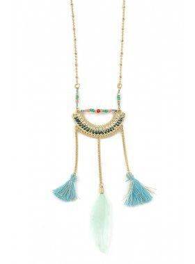 Halskette - Aztec Blue