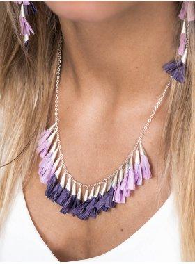 Halskette - Tulip