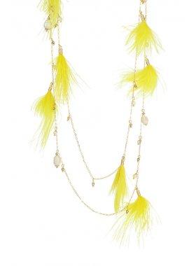 Halskette - Golden Oriole