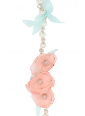 Halskette - Pastel Floral