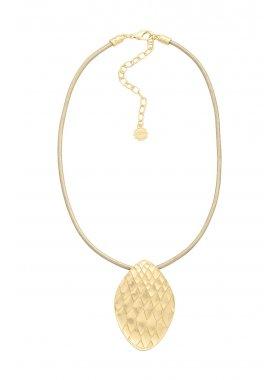 Halskette - Gold Rhombus