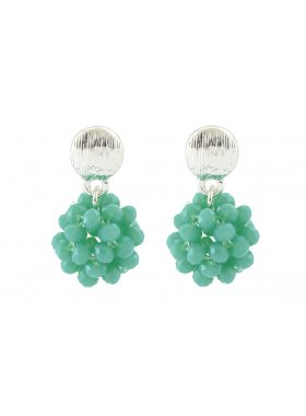 Ohrhänger - Turquoise Balls