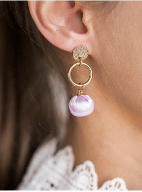 Ohrhänger - Purple Prom
