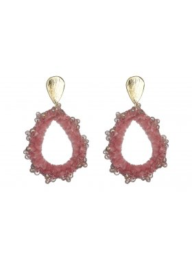Ohrhänger - Pink Velvet