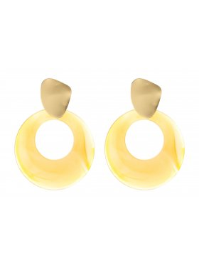 Ohrring - Shining Yellow