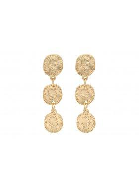 Ohrhänger - Golden Triga