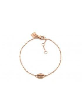 Armband - Rosegolden Kauri Shell