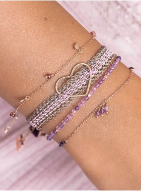 Armband - Purple Marrakesh