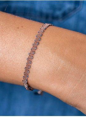 Armband - Petrol Weave