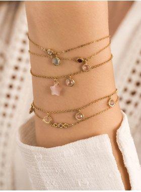 Armband - Golden Shine