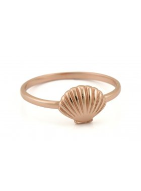 Ring - Rosegolden Sea Shell EU52