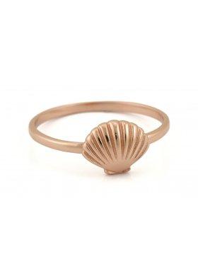 Ring - Rosegolden Sea Shell EU56