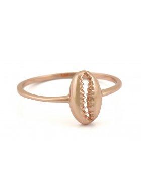 Ring - Rosegolden Kauri Shell EU52